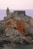 The Church of St Peter in Porto Venere Royalty Free Stock Photos