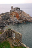 The Church of St Peter in Porto Venere Stock Photo