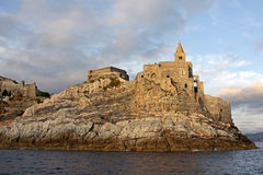 Church of St. Peter in Portovenere Royalty Free Stock Image