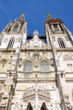Church of St. Peter in Regensburg, Germany. View of St. Peter's, Regensburg, Germany Royalty Free Stock Photography