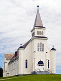 Church, St. Peter's Bay, PEI, Canada Royalty Free Stock Image