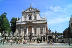 The Church of St. Peter and St. Paul city Krakow in Poland Stock Image