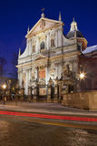 Church of St Peter & St Paul - Krakow - Poland Royalty Free Stock Photography
