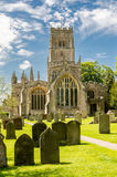 Church of St Peter and St Paul,Northleach,Cotswold Royalty Free Stock Photos