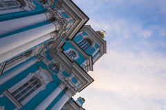 Church in St. Petersburg Royalty Free Stock Photo