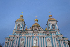 Church in St. Petersburg Royalty Free Stock Image