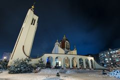 Church of st Petr Stock Photography