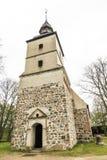 Church St. Petri in Benz, Vorpommern Royalty Free Stock Photos