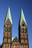 Church St.-Petri-Dom in Bremen Stock Images