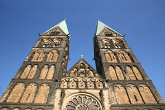 Church St.-Petri-Dom in Bremen Royalty Free Stock Image