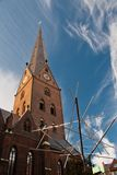 The church St. Petri in Hamburg, Germany. See my other works in portfolio Royalty Free Stock Photos