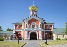 The Church of St. Philip, Metropolitan of Moscow. Svyatoozersky Valday Iversky monastery Stock Image