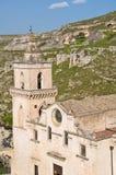 Church of St. Pietro Caveoso. Matera. Basilicata. Italy. Royalty Free Stock Images