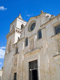 Church of St. Pietro Caveoso. Sassi of Matera. Stock Image