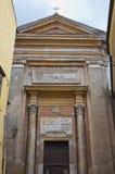 Church of St. Pietro. Nepi. Lazio. Italy. Stock Photos
