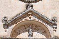 Church of St. Quirico. Cisternino. Puglia. Italy. Stock Photos