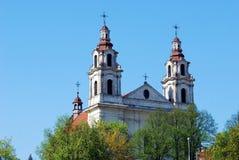 Church of St. Raphael the Archangel in Vilnius Stock Photos