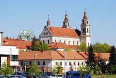 Church of St. Raphael the Archangel in Vilnius Royalty Free Stock Image