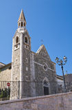 Church of St. Rocco. Alberona. Puglia. Italy. Stock Photography