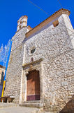Church of St. Rocco. Cancellara. Basilicata. Italy. Royalty Free Stock Photo