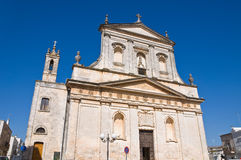 Church of St. Rocco. Ceglie Messapica. Puglia. Italy. Royalty Free Stock Image