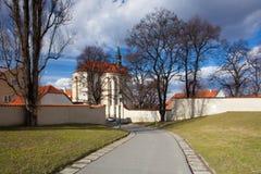 Church of St. Rochus in Prague Strahov Monastery. Stock Image