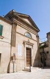 Church of St. Salvatore. Francavilla Fontana. Puglia. Italy. Royalty Free Stock Images