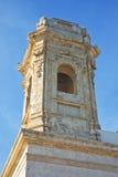 Church of St. Salvatore. Monopoli. Puglia. Italy. Detail of the Church of St. Salvatore. Monopoli. Puglia. Italy Stock Photo