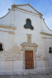 Church of St. Salvatore. Monopoli. Puglia. Italy. Royalty Free Stock Images