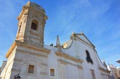 Church of St. Salvatore. Monopoli. Puglia. Italy. Stock Photos