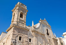Church of St. Salvatore. Monopoli. Puglia. Italy. Stock Photography