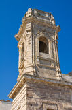 Church of St. Salvatore. Monopoli. Puglia. Italy. Stock Image