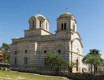 Church of St. Sava. Tivat, Montenegro Stock Image