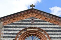 Church of St. Savino. Rezzanello. Emilia-Romagna. Italy. Royalty Free Stock Image