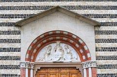Church of St. Savino. Rezzanello. Emilia-Romagna. Italy. Royalty Free Stock Images