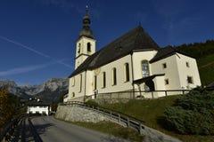 The Church of St. Sebastian, Ramsau, Bavaria, Germany Royalty Free Stock Photos