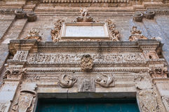 Church of St. Sebastiano. Galatone. Puglia. Italy. Stock Photos