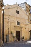 Church of St. Sebastiano. Lecce. Puglia. Italy. Stock Images