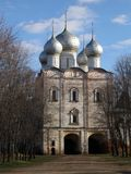 The Church of St. Sergius of Radonezh, South Gate, Boris and Gleb Monastery, Borisoglebsk, Rostov district, Yaroslavl region, Russ. Ia Stock Photography