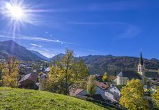 Church St. Sixtus in Schliersee, Bavaria Stock Image
