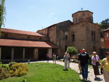 Church of St. Sophia, Ohrid, Macedonia Royalty Free Stock Image