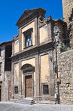 Church of St. Spirito. Tarquinia. Lazio. Italy. Royalty Free Stock Image