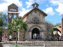 The Church of St Stanislaus. Altos de Chavón, La Romana, Dominican Republic: The Church of St Stanislaus. The Church of St Stanislaus was named after the patron Stock Image