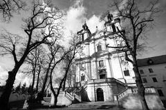 Church of St.Stanislaus Bishop in Krakow Stock Photography