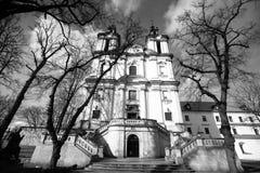 Church of St. Stanislaus Bishop in Krakow. Stock Photos