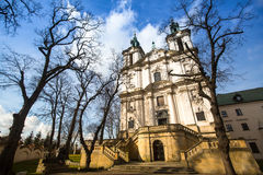 Church of St. Stanislaus Bishop in Krakow Royalty Free Stock Image