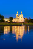 The Church of St. Stanislaw in Krakow, Poland Royalty Free Stock Photography