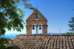 Church of St. Stefano. Assisi. umbria. Italy. Royalty Free Stock Photos