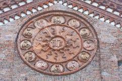 Church of St. Stefano. Ferrara. Emilia-Romagna. Italy. Stock Photography
