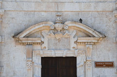 Church of St. Stefano. Molfetta. Puglia. Italy. Stock Images